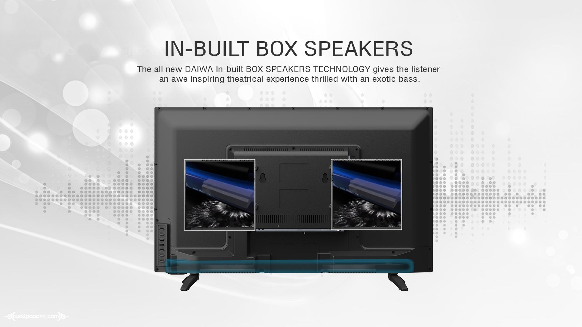 Smart Led Tv With 8gb Internal Storage Screen Capture Daiwa Schematic Diagram Free Download Wiring In Built Box Speakers