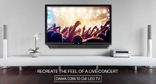 DAIWA D26K10 (24) 60cm LED TV