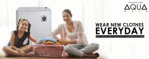Wear new cloth every day semi automatic Washing machine