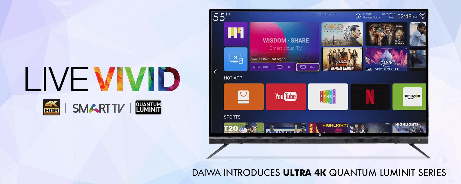 9834fac9d 4K UHD Smart LED TV