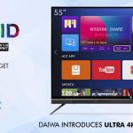 Daiwa ultra 4K luminit LED Tv