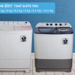 Daiwa semi automatic washing machine