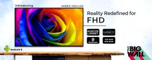 43 Inch Full HD Smart LED TV (D43QFS) (