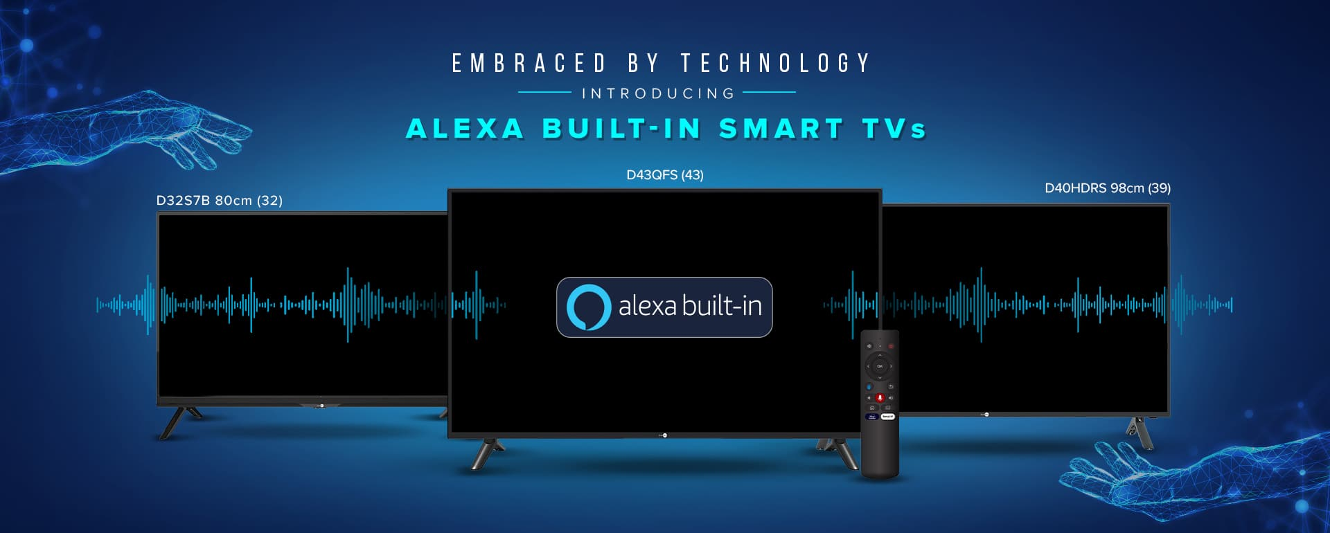 Daiwa - Alexa Built-in Tv's